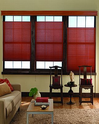 Cave Creek Pleated Shades